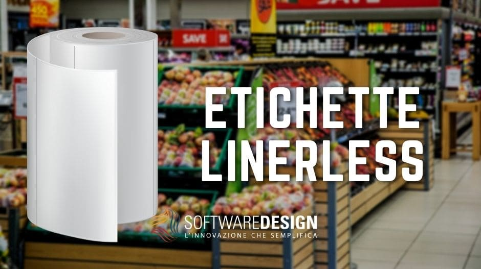 etichette linerless software design