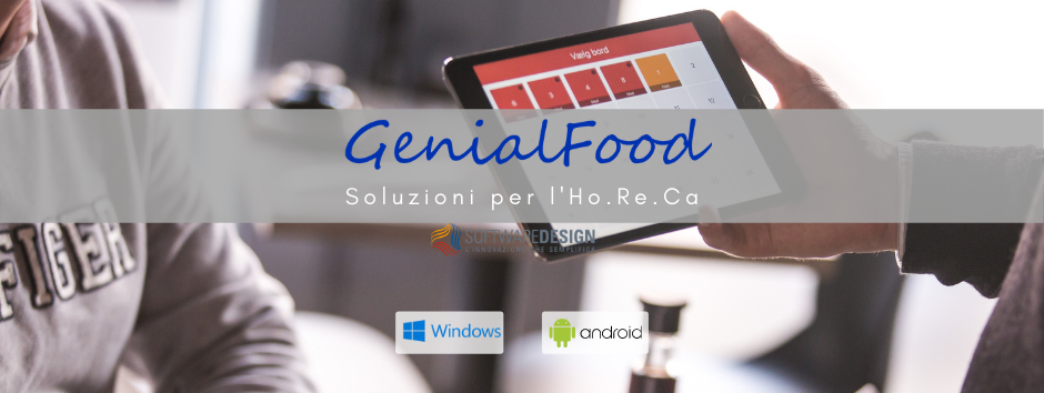 Genial food logo softwaredesign android windows